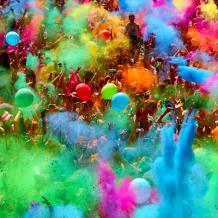 Alcanzado el límite de inscripciones en la Color Run Festival