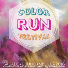 Solo quedan 9 días para la Color Run Festival SOLIDARIA