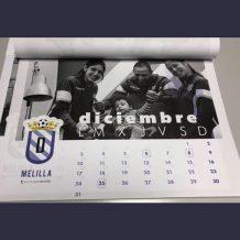 Calendario benéfico UD Melilla